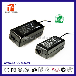 Switching power adapter 15v 3a power supply with DC JACK 5.5*2.5/5.5*2.1(option)