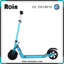 2017 hot selling 2 wheel 8 inch solid rubber tire classical electric scooter