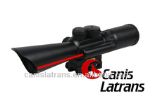 3.5-10x40 tactical light Rifle Scope With Red Laser Light /hunting scopes