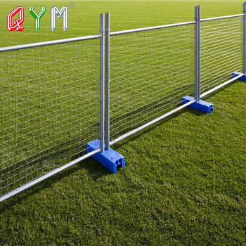Galvanized Welded Wire Mesh Temporary Fence / Movable Construction Temporary Fence Panels