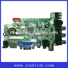 Small-size LCD TV Board Support Polarization/shutter 3D Screen And Support PAL+SECAM/NTSC System Optional Full Standard System