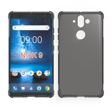 2018 the most popular universal shockproof cell phone tpu case for nokia 9 case