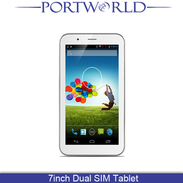 "7"" Long Battery Life Sexy 3G Android GPS Tablet Dual SIM Card"