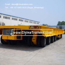 Shipyard transporter-self propelled (SPMT)-Compact Vehicles for Road Transportation