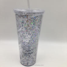 double wall custom printed plastic cup