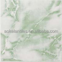 30*30 green color glaze ceramic floor tiles