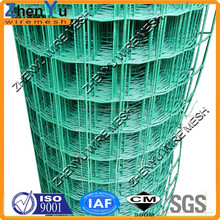 PVC/PE coated holland welded wire mesh fence for boundary protect fence(cheap price,top quality)