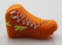 paypal accept orange shoes shaped usb pen drive , wholesale usb stick, usb flash drive with free sample
