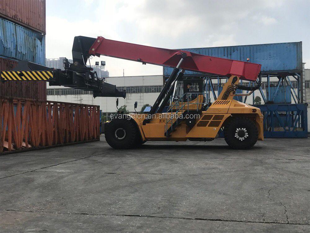 kalmar reach stacker 45 ton container reach stacker container forklift rsh4532-vo