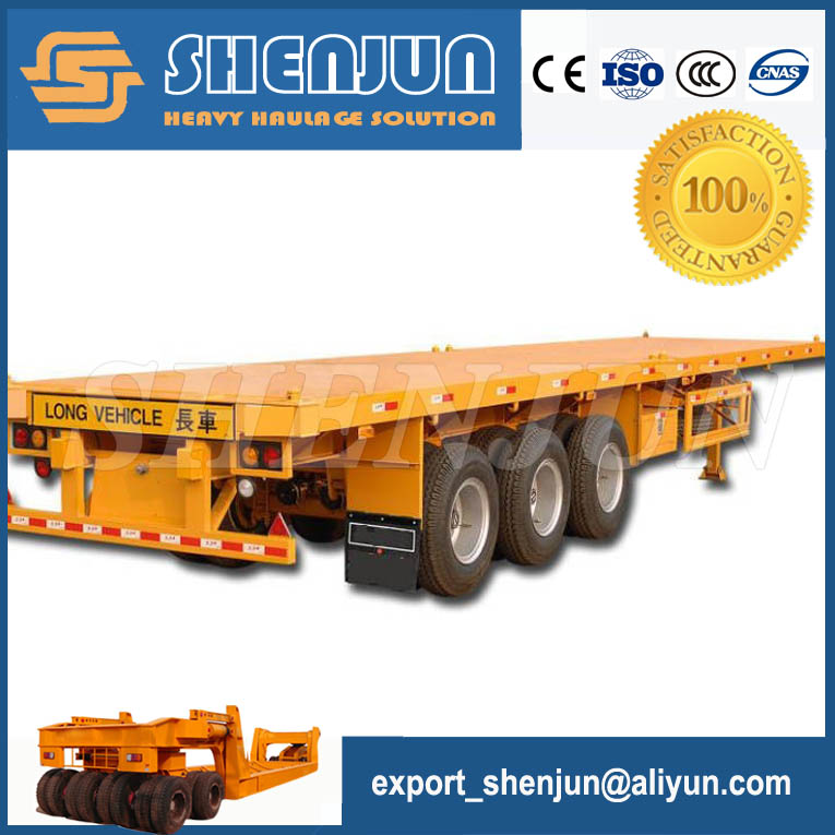 40 feet platform container dolly trailer for sale
