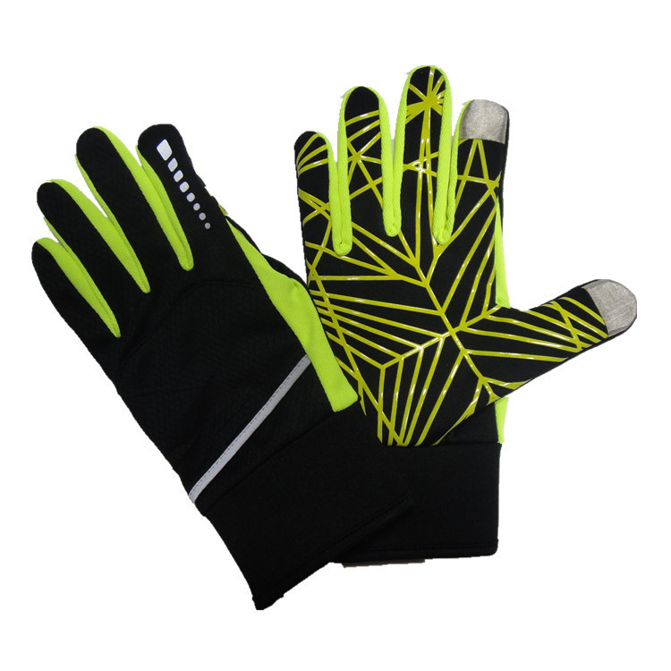 GZY 2015 outdoors sports two finger touch gloves
