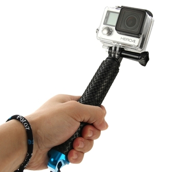 Dropshipping PULUZ Brand Handheld Extendable Pole Monopod Selfie Stick for Go Pro HE RO5 /4 /3+ /3 /2 /1