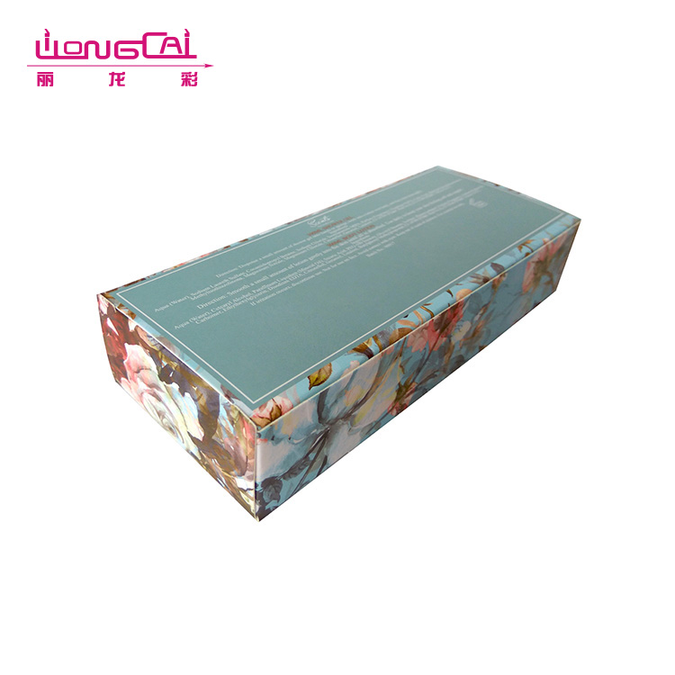 High quality recyclable luxury bath bomb packaging box with window