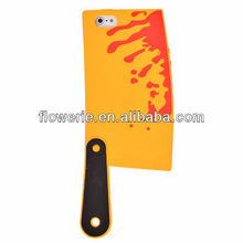 FL3282 2013 Guangzhou hot selling creative 3d silicone knife design phone case cover for iphone 5