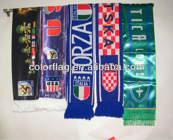 fans sports football scarf