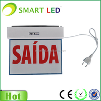 2016 Durable EXIT LED Indicator Light/Exit Sign Running Man