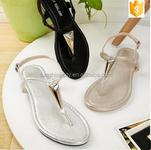 Ladies Fashion Fancy Flat Sandals