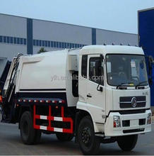 Dongfeng DFL5120B Compactor Garbage Truck Price, Capacity Of Garbage Truck Dimensions
