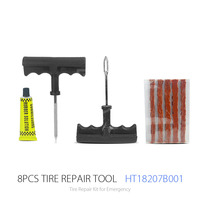 8PC Tyre Repair Equipment And Tire Repair And Car Repair Tool Kit For Motorcycles and cycles