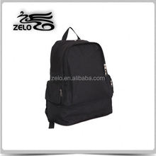 600D polyester simple backpack with bottom compartment