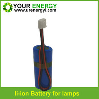 power 18650 li ion 6v rechargeable battery pack