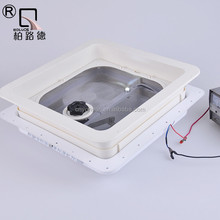 360*360mm plastic Motorhome Roof Vent with 12V DC fan