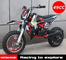 Koshine MOTO 50cc 2 stroke Gas Powered Kids Pit Mini 50cc Dirt Bike