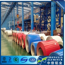 Top quality PVDF color coated aluminum roofing coil on sale