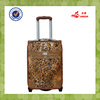 outdoor travel leopard material suitcase luggage bag