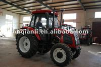 90HP high power wheel tractor with back hoe