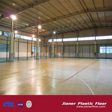 PVC Indoor Flooring For Basketball Court Surfaces