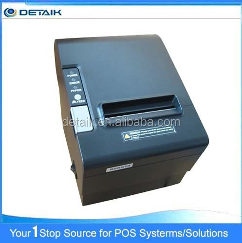 POS80230 Good Quality Auto-Cutter Thermal Receipt Printer POS 80mm Printer