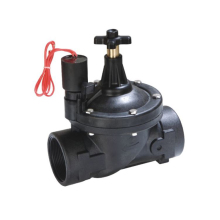 Electric plastic agriculture 3 inch irrigation solenoid valves for water