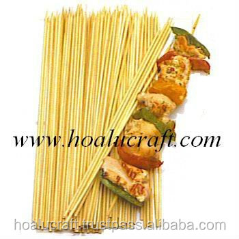 Round bamboo skewers in high quality