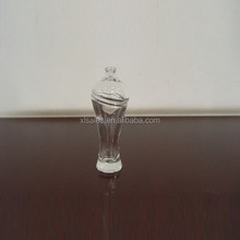 Elegant Perfume Glass Flint Bottle / Empty Perfume Bottle