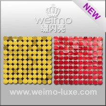 2016 New Patent Shimmer Sequin Weimo-Luxe Panel For Exterior Wall Designs