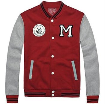 Custom embroider baseball jackets