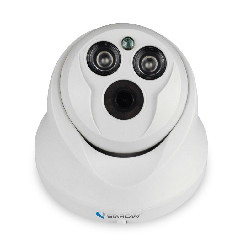 New H.264 PnP HD home security camera wired cheap dome camera