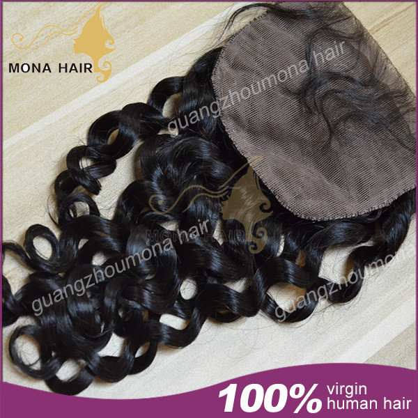 Best selling top grade 7a 100 silk invisible part closure malaysian virgin hair