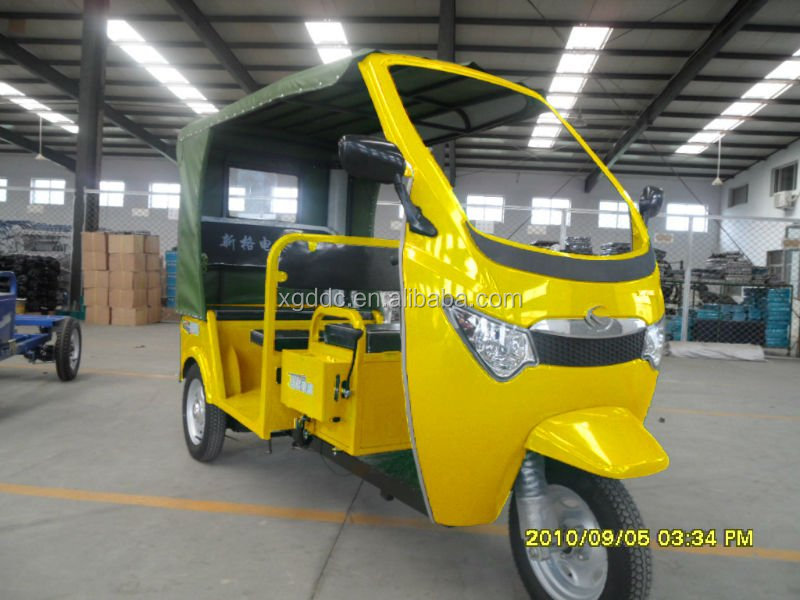 2016 China New Model three wheel electric tricycle