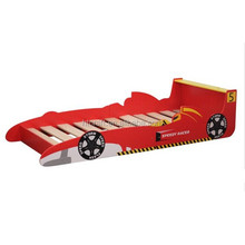 HT-SCSB01 Latest kids bedroom furniture wooden bed cool beds for sale in racing car shape
