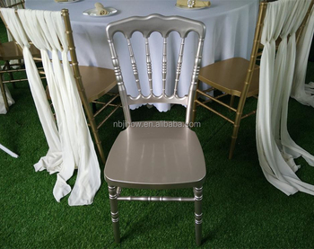 popular PP napoleon chair for europe wedding