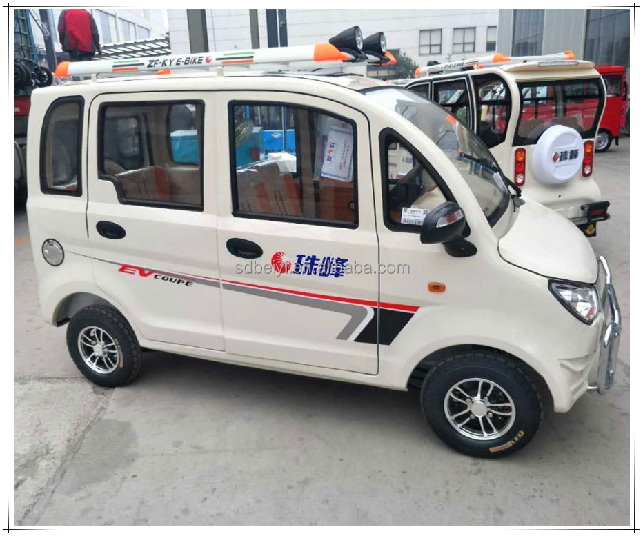 Smart electric low cost vehicle/chinese 4 seat vehicle electric cars for sale made in china