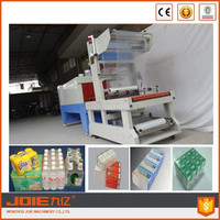 JOIE Automatic pop-top cans,beer , mineral water, hardwares, food, Sleeve Sealing And Shrinking packaging machine