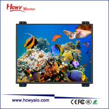 Resistive Touchscreen Technology 8inch industrial open frame lcd monitor with CE & RoHs Certificate