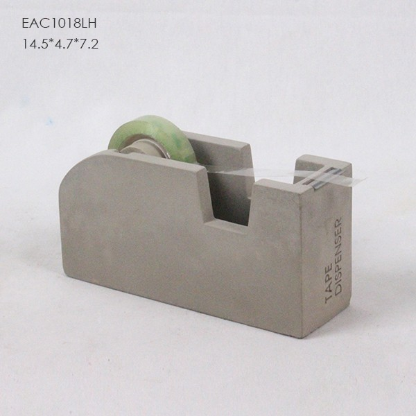 Concrete or cement Stationery collection desk tray organizer
