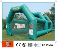 Outdoor Inflatable Baseball Batting Cage Netting Baseball Batting Cage net