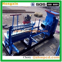 Easy operate small clay brick making machine