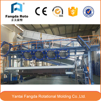 TOP grand Rock n roll rotational Automatic plastic molding machines