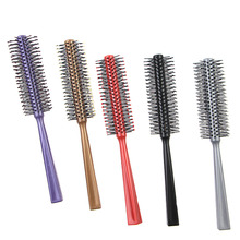 small plastic round hair brush with cheap price Professional hair brush for babay hair